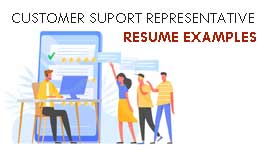Customer Service Representative cv 2021
